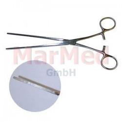 Svorka střevní Kocher, 22 cm, elastická, rovná