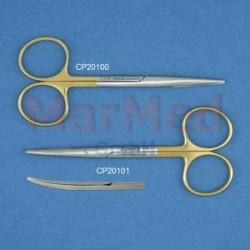 Nůžky preparační Lexer-Baby 10 cm, TC, zahnuté, tupé/tupé, prvotřídní kvalita