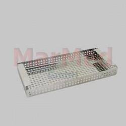 Síto do sterilizační nádoby, vhodné pro sterilizátor H111xxx (vnější rozměry 30 x 14 cm) a základním setům MarMed