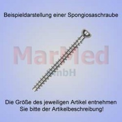 Šroub spongiozní, ? 4,0 x 14 mm, balení po 5 ks, vnitřní šestihran