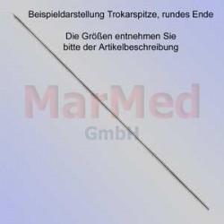 Kirschnerův drát s trokarovým hrotem, oblá koncovka, délka 150 mm, ? 2,0 mm, 10 ks