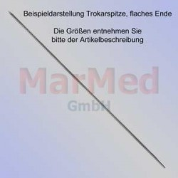 Kirschnerův drát s trokarovým hrotem, plochá koncovka, délka 150 mm, ? 1,5 mm, 10 ks