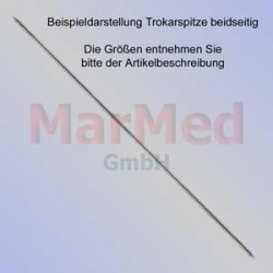 Kirschnerův drát s dvěma trokarovými hroty, délka 150 mm, ? 1,2 mm, 10 ks