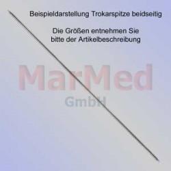 Kirschnerův drát s dvěma trokarovými hroty, délka 310 mm, ? 1,0 mm, 10 ks