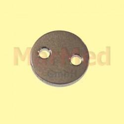 Podložka/destička fixační na ligaturu pro cerklážní drát, ? 8 mm