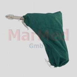 Obal na aku vrtačku Makita, zelená tkanina, vhodné pro autokláv