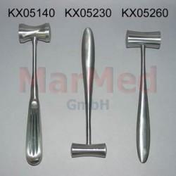 Kladívko Hajek, masivní ocel, 21,5 cm, ? hlavy 27 mm, 140 g