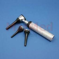 Otoskop EUROLIGHT C30 VET s bateriovou rukojetí, 3 veterinární ušní zrcátka na vícero použití (ø 4, 5 a 7 mm),