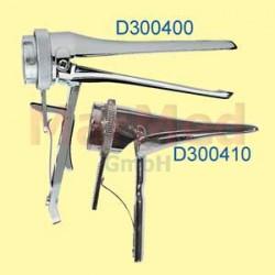 Zrcátko kovové rozvírací, 60 mm, úzké, kompatibilní s otevřenou hlavicí