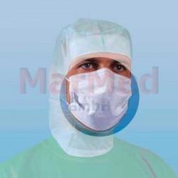 Maska operační, zelená, 3-vrstvá - 50 ks