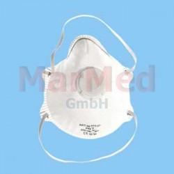 Maska respirační FFP2 s výdechovým ventilem - 12 ks