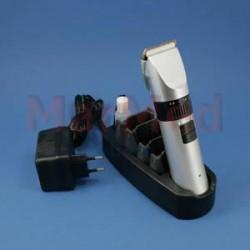 Střihací strojek Onyx napájený bateriemi nebo ze sítě, nastavitelná délka střihu 0,8-2 mm, dodáváno s nabíječkou,