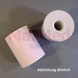 EKG-papír v roli, kompatibilní s přístrojem EKG Nihon Kohden 1150 a 9620M, rozměry role 63 mm x 30 m, balení s 2 rolemi