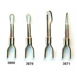 Elektroda pro kauter - tvar nože, oblá