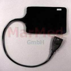 Elektroda neutrální gumová, 112 x 168 mm, kabel 50 cm, kompatibilní s MC 80/HBS 80