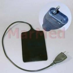 Elektroda neutrální gumová, 112 x 168 mm, kabel 50 cm, kompatibilní s ICC 80 a Emed ES 120
