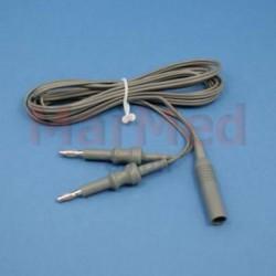 Kabel pro bipolární pinzetu - pro Emed ES 120 a Mano Medical MMC 400 S, délka 5 m