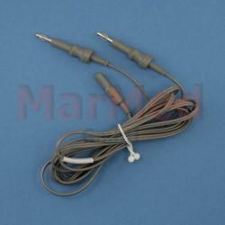 Kabel pro bipolární nůžky - pro Emed ES 120 a Mano Medical MMC 400 S, délka 3