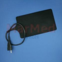 Elektroda neutrální gumová 260 x 150 mm, kabel 50 cm, kompatibilní s Erbe T-Serie