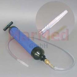 Vakuová ruční pumpa z PVC
