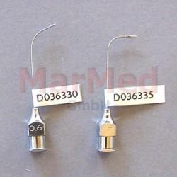 Kanyla lakrimální, zahnutá, 0,6 x 33 mm, Lachrymal Luer Lock - bez olivky