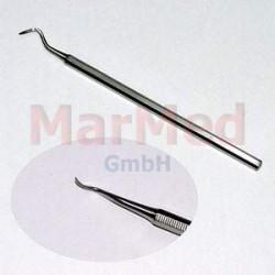 Škrabka na zubní kámen Abott, 150 mm (velký hák)