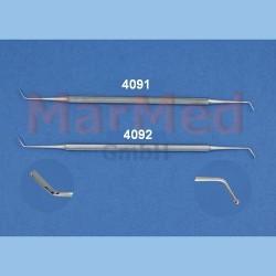 Cpátko kuličkové s hladítkem - cpátko, 1,0 mm, hladítko 2,0 mm