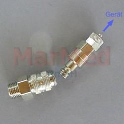 Rychlospojka pro Satelec P5 ProVet DTE D3 a NSK Varios 350, z obou stran utěsněná