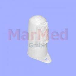 Zubní kartáček na prst s odolným, měkkým gumovým kartáčkem, 10 kusů