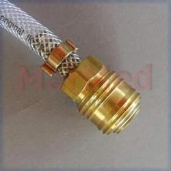 Rychlospojka pro vzduchovou tlakovou hadici - připojovací šroubení female NW 7, vnitřní ? 6 mm