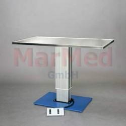 Ošetřovací stůl MarMed VET Basic 2 - deska s okrajem