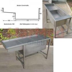 Stůl multifunkční dle Dr. Buchera, rozměry 1500 x 575 x 840 mm (délka x šířka x výška)