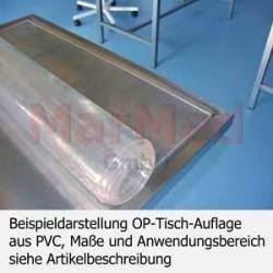 Potah z PVC na operační a ošetřovací stůl, 124,5 x 54,5 cm