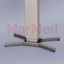 Noha - dvojitá, tvar V k operačním stolům MarMed, nerez ocel, nastavitelná