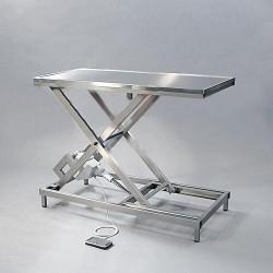 Stůl Marmed SHT-200R, s nůžkovým zdvihem, pojízdný