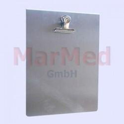 Tabulka pro identifikaci pacienta na dveře klece, formát A4, nerez ocel
