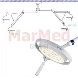 Svítidlo operační Dr. Mach LED 130-DUO stropní