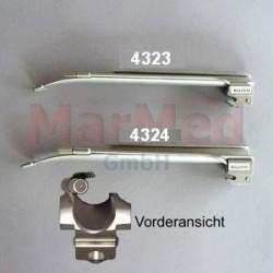 Lžíce laryngoskopu z nerez oceli rovná (Miller), velikost 4, délka 205 mm