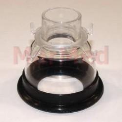 Maska narkotizační z PVC, velikost 3 - s měkkým, elastickým těsněním a spojovacím
