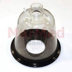 Maska narkotizační z PVC, velikost 6 - s měkkým, elastickým těsněním a spojovacím