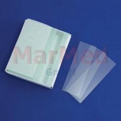 Sklíčka podložní 76 x 26 mm, balení s 50 ks