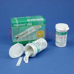 Testovací proužky B. Braun Omnitest Plus, 2 x 25 ks do glukometru Omnitest Plus
