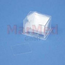 Sklíčka krycí do hemacytometru, 20 x 26 mm, 10 ks
