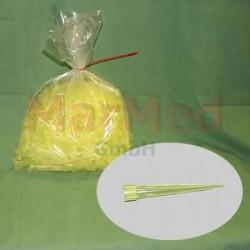 Pipetové špičky, žluté, 1000 ks