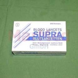 Lancety na odběr krve, 200 ks, sterilně baleno