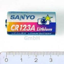 Baterie litium, CR 123, 1 kus