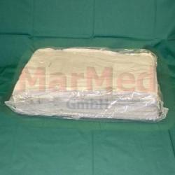 Ubrousky z buničniny, neběleno, 20 x 30 cm, Karton - 15 kg