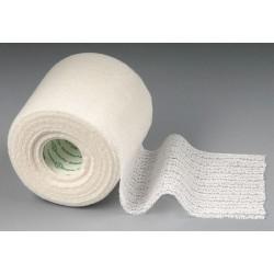 Obinadlo elastické NOBAHAFT-FEIN 4 m x 4 cm, bílé, kohezivní, hladké, vrstva z přírodního latexu, 1 kus