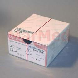 Šicí materiál Monosyn fialový, USP 3/0 (metric 2) + jehla DS-24, 70 cm, 36 kusů, C0022215