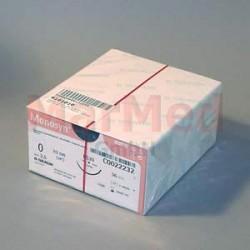 Šicí materiál Monosyn fialový, USP 0 (metric 3,5) + jehla DS-30, 70 cm, 36 kusů, C0022232